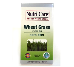 עשב חיטה Wheat Grass נוטריקר